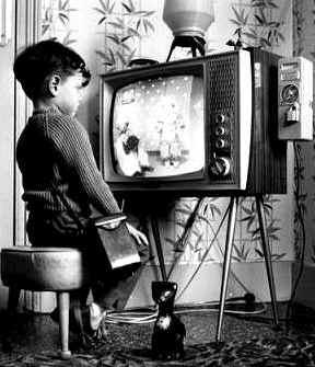 Gledanje televizije / 60ete