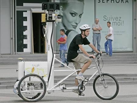 Google tricikl