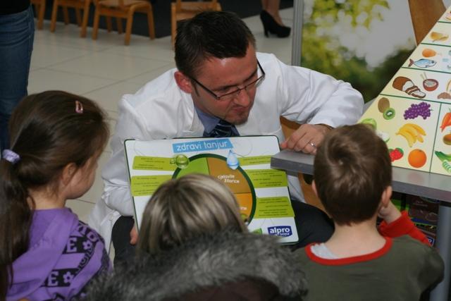 Djeca su pokazala veliki interes i za zanimanjem nutricionist