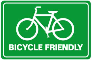 """Bike friendly environment"""