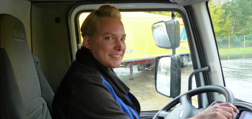 Majka četvero djece radosno sjeda za upravljač kamiona: 'Ovo je sad moje vrijeme, moj hobi, moj svijet'