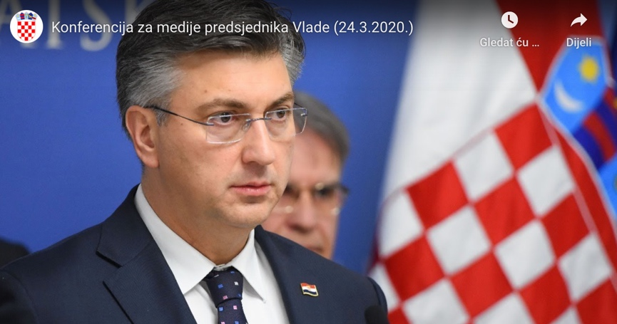 Vlada će svoje plaće donirati za pomoć Zagrebu