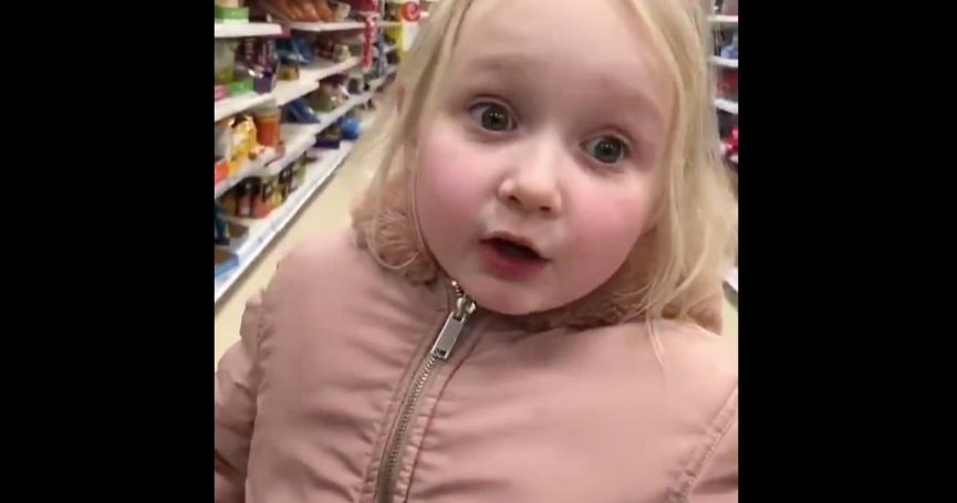 [ VIDEO ] 4-godišnja curica kritizirala panične kupce i postala hit na internetu