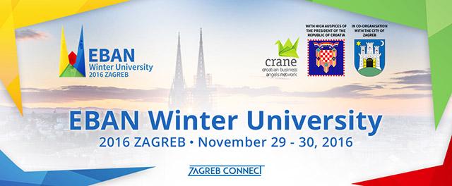 Osigurajte već sad svoje mjesto na EBAN Winter University 2016 konferenciji!