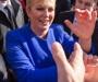 Predsjednica poručuje da val iseljavanja iz Hrvatske polako opada, jer su ljudi shvatili da u inozemstvu ne teku med i mlijeko