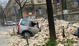 Snažni potresi uzdrmali Zagreb, građani su na ulicama, štete ogromne, oštećena je i katedrala