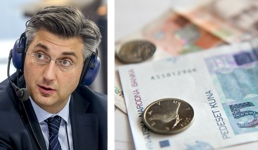 Plenković: Vlada će radnicima osigurati plaću od 4000 kn i preuzeti teret doprinosa