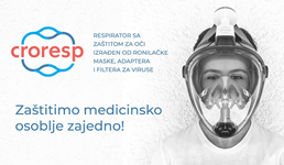 Dobrotvorna akcija: Za zaštitu zdravstvenih djelatnika izrađuju se hrvatski respiratori