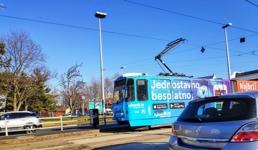 Prve tri ZET-ove tramvajske linije su u prometu, a jedna prvi put prolazi novim rotorom